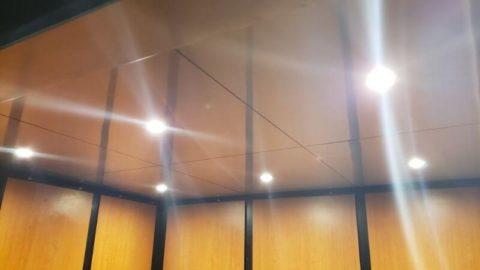 elevator lighting for Miles Elevator Door and Cab